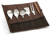 Lafuma camping kitchen tool set_Paddle/Turner/Fork/Chopstick/ Cooking Spoon(2EA)