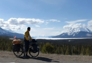 Bike ride from the Arctic Ocean to British Columbia